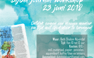 Workshop Bijbel journal