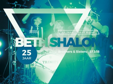 Feest! 25 jaar Beth Shalom.