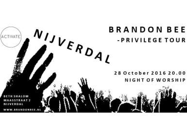 Concert Brandon Bee en DavideSforza